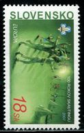 AX0567 Slovakia 2007 Europa Boy Scouts 1V MNH - 2007