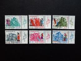 LUXEMBOURG MI-NR. 798-803 GESTEMPELT CARITAS 1969 BURGEN (I) - Luxemburgo