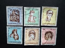 LUXEMBOURG MI-NR. 779-784 GESTEMPELT CARITAS 1968 KINDER - Luxemburgo