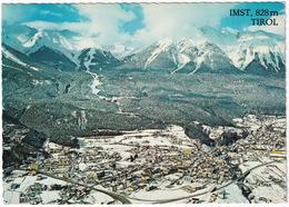 Imst, 828 M Mit Schigebiet 'Sonneck'; Imster Sesselbahn 1100 - 2100 M - (Tirol) - Imst
