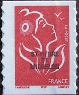 "SPM YT 842 "" Marianne Lamouche SV Rouge, Adhésif "" 2005 Neuf** - Nuevos"
