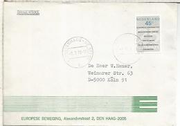 HOLANDA 1978 CC TEMA EUROPA - Instituciones Europeas