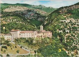Cartolina Chiese- Monastero Di S. Scolastica-subiaco - Chiese E Conventi