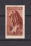 Saarland - 1934 - Michel Nr. 177 - Ungebr. - 40 Euro - 1920-35 Société Des Nations