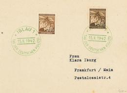 Iglau - Tag Der Deutschen Polizei 15.2.1942 Linde - Bohemia & Moravia