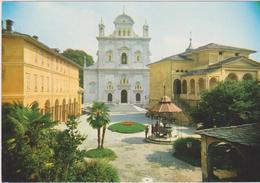 Cartolina Chiese- Basilca -sacro Monte Di Varallo Sesia - Chiese E Conventi