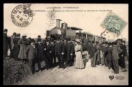 FRANCE, Clermont-Ferrand, Tramway Au Sommet De Puy-de-Dome, Animé (63) - Clermont Ferrand