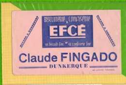 Buvard & Blotting Paper : Biscuits EFCE  Claude FINGADO DUNKERQUE - Cake & Candy