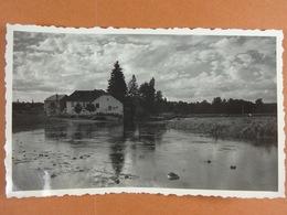 Photo D'amateur (11 Cm X 6,5 Cm ) Chiny 1935 Le Moulin Dans La Scierie - Lieux
