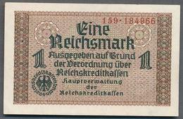 P-R136a  Ro551  ZWK-2a  1 Reichsmark 1939/44 ** UNC ** - Other