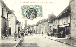 6- BRIENNE Le CHÂTEAU - Grande Rue De L'Ecole Militaire - Ed. A B & Cie - Francia