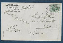 Ambulant  COLMAR - METZERAL - Postmark Collection (Covers)