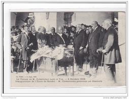 BANDOL : Le Voyage De M. Clémenceau Dans Le Var, Inauguration De L'ecole De Bandol, Discour, 8/10/1908 - Etat - Bandol