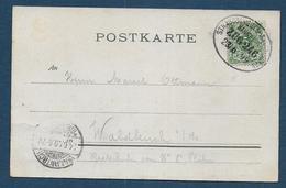 Ambulant  STRASSBURG - SAARBRUCKEN - Poststempel (Briefe)