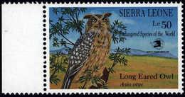 Sierra Leone 1989 **MNH Long Eared Owl Waldohreule Hibou Moyen-duc - Hiboux & Chouettes