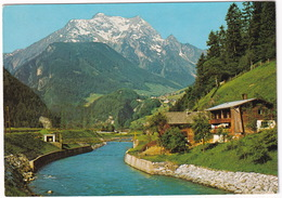 Partie An Der Ziller Mit Grünberg 2805 M - Zillertal - Tirol - Zillertal