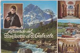 Cartolina Chiese- SaNTUARIO DI SAN GABRIELE-TERAMO - Chiese E Conventi