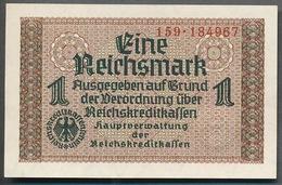 P-R136  Ro551  ZWK-2a  1 Reichsmark 1939/44 ** UNC ** - [ 4] 1933-1945 : Troisième Reich