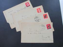 Österreich Mai / Juni 1945 1. Wiener Aushilfsausgabe Hitler Mit Aufdruck Österreich 4 Vorderseiten! Rekaminkel - Briefe U. Dokumente