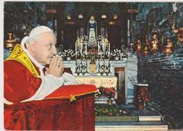 Cartolina PAPI-PAPA GIOVANNI XXIII-LORETO - Papi