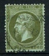 FRANCE ( POSTE ) : Y&T N° 19 TIMBRE BIEN  OBLITERE , A VOIR . - 1862 Napoléon III
