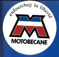 A.C. MOTOBECANE Enfourchez La Liberté - Autocollants