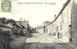 LA CELLE-SOUS-CHANTEMERLE - Rue Aux Vaches -ed. Illisible - Francia