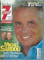 "TELE 7 JOURS  N° 1890  "" MICHEL SARDOU "" -   AOUT 1996 - Fernsehen"