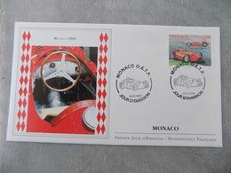 FDC MONACO 2013 : Formule 1, Maserati 250F - FDC