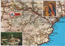 Cartolina Carte Geografiche-millesimo - Landkarten