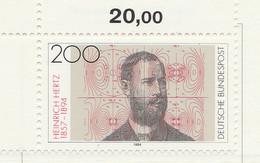 PIA - GER-  1994  : Centenario Della Morte Del Fisico Heinrich  Hertz -  (Yv 1542) - Fisica