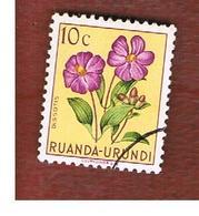 RUANDA-URUNDI  -  SG 175 -   1953  FLOWERS: DISSOTIS   - USED ° - Ruanda