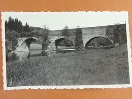 Photo D'amateur (11 Cm X 6,5 Cm ) Chiny 1935 Pont St-Nicolas - Lieux