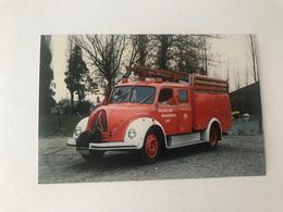 Lint  Vrijwillige Brandweer  FOTO 19/11/1988    POMPIERS BRANDWEER - Lint