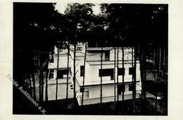 Bauhaus Gropius, Walter Doppelwohnhaus Dessau Foto-Karte I- - Künstlerkarten