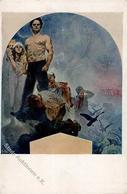 Mucha, A. Humilation Künstlerkarte I-II - Mucha, Alphonse