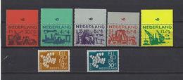 Pays-Bas: 703/ 707 ** + 738/ 739 ** - 1949-1980 (Juliana)