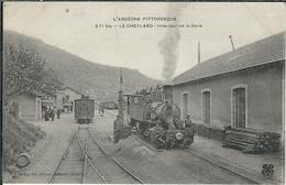 Ardèche, Le Cheylard, Interieur De La Gare, Belle Carte, RARE... - Le Cheylard