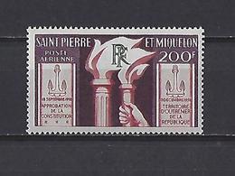 Saint-Pierre-et-Miquelon: PA 26 ** - Poste Aérienne