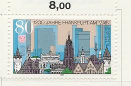 PIA - GER-  1994  : 12° Centenario Della Città Di Francoforte Sul Meno  -  (Yv 1549) - [7] Repubblica Federale
