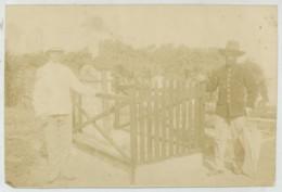 Madagascar . Fort-Dauphin 1902 . Paul François Colonna D'Istria (Pila Canale 1857 - Le Vésinet 1930). Coloniale . Milice - War, Military