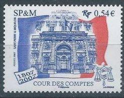 """SPM YT 885 """" Cour Des Comptes """" 2007 Neuf** - St.Pierre Et Miquelon"""