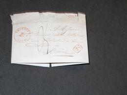 COURRIER AVEC 2 CACHETS SOIGNIES 1844 Et LESSINES 1844 - Lettre à Fondation Bourse DEBLINDE - 1830-1849 (Belgica Independiente)