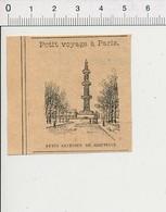 Presse 1899 Petite Gravure De Paris Le Puits Artésien De Grenelle 51D23 - Unclassified