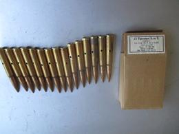Boite De 15 Cartouches Mauser SmE 1944 - Decorative Weapons