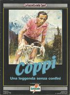 Ciclismo, Coppi, 1989, Una Leggenda Senza Confini. 70 Pagg. Riccamente Illustrate. - Sport