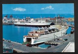 Civitavecchia Bateau Boat Port  CPSM Rome Latium Lazio Italie  Italia - Civitavecchia