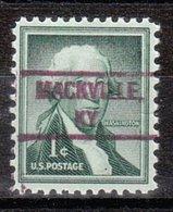 USA Precancel Vorausentwertung Preo, Locals Kentucky, Mackville 807 - Vereinigte Staaten