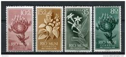 Rio Muni 1960. Edifil 10-13 ** MNH. - Riu Muni