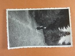 Photo D'amateur (11 Cm X 6,5 Cm ) 1935 Promenade Vers Chamleux - Lieux